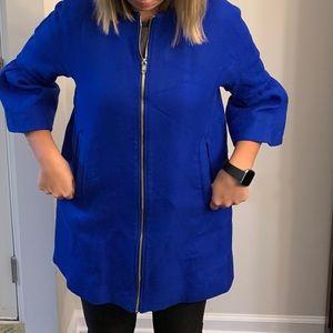Zara long lightweight women's jacket, Small